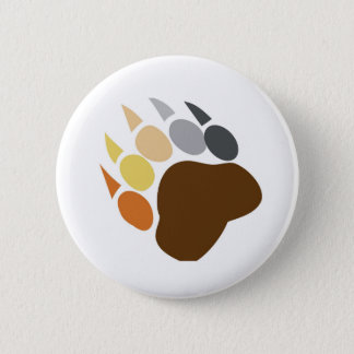 Bear Pride - Bear Claw 2 Inch Round Button