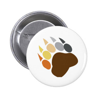 Bear Pride - Bear Claw 2 Inch Round Button