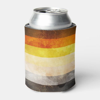 Bear Pride Flag Can Cooler