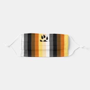 Bear Pride Flag Cloth Face Mask