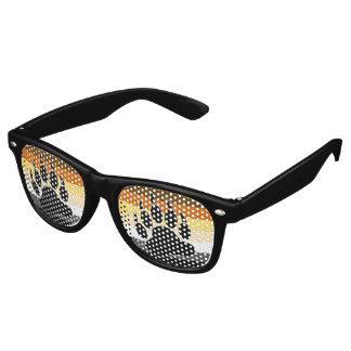 Bear Pride Flag Retro Sunglasses