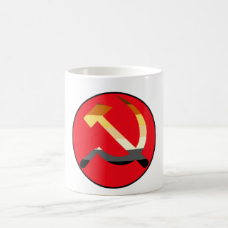 Bear Pride Flag Soviet Hammer And Sickle Coffee Mug