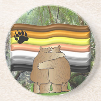 Bear Pride in the Woods Coaster
