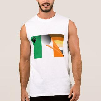 Bear Pride Irish Flag (No Text) Sleeveless Shirt