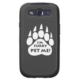 Bear Pride Paw I M FURRY PET ME Samsung Galaxy Samsung Galaxy SIII Case