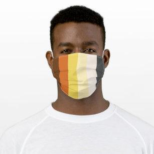 Bear Pride Stripe Cloth Face Mask