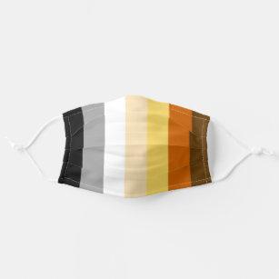Bear Pride Stripes Cloth Face Mask