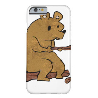 bear roasting marshmallows barely there iPhone 6 case
