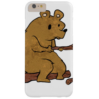 bear roasting marshmallows barely there iPhone 6 plus case