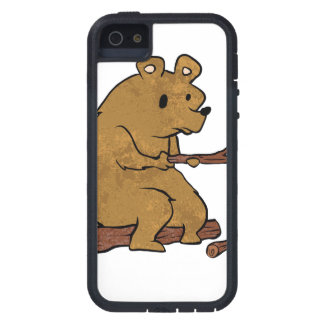 bear roasting marshmallows case for the iPhone 5