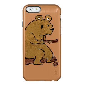 bear roasting marshmallows incipio feather® shine iPhone 6 case