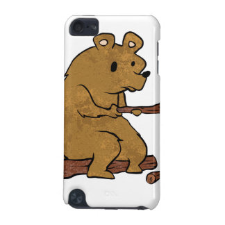 bear roasting marshmallows iPod touch 5G cover