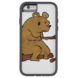 bear roasting marshmallows tough xtreme iPhone 6 case