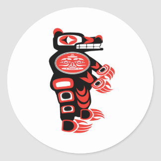 Bear Robotics Classic Round Sticker