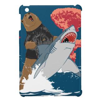 Bear Shark Escape iPad Mini Cover