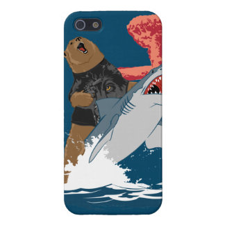 Bear Shark Escape iPhone 5/5S Cover