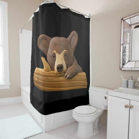"""Bear"" SHOWER CURTAIN"