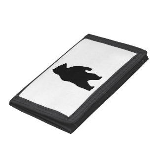 Bear Silhouette Trifold Wallet