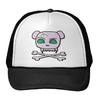 Bear Skull Trucker Hat