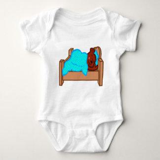 Bear Sleeping Baby Bodysuit