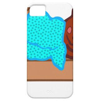 Bear Sleeping iPhone 5 Covers