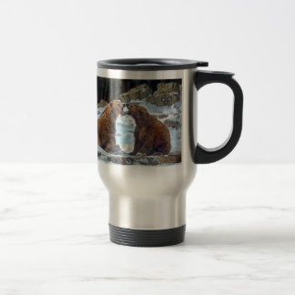 Bear Smooch Travel Mug