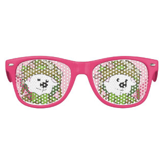 BEAR SOLDIER Kids Retro Party Shades PINK