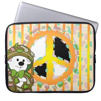 BEAR SOLDIER Neoprene Laptop Sleeve 15 inch