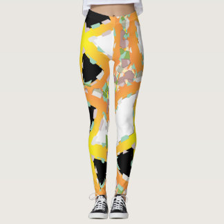 BEAR SOLDIER PEACE KEEPER CARTOON Leggings 2