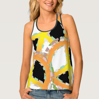 BEAR SOLDIER Women's All-OverPrint Racerback Tank4 Tank Top