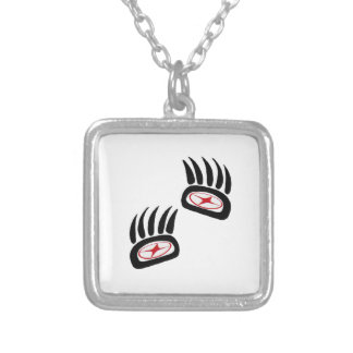 Bear Spirit Silver Plated Necklace