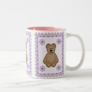 Bear Stamp Coffee Mugs