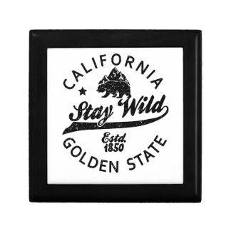 bear stay wild california gift box