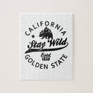 bear stay wild california jigsaw puzzle