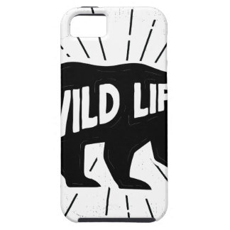 Bear - Stay wild iPhone 5 Case
