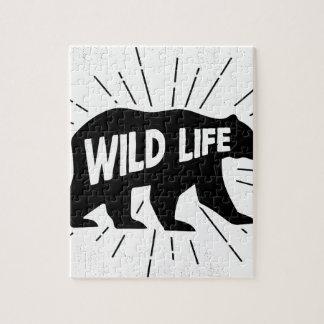 Bear - Stay wild Jigsaw Puzzle