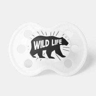 Bear - Stay wild Pacifier