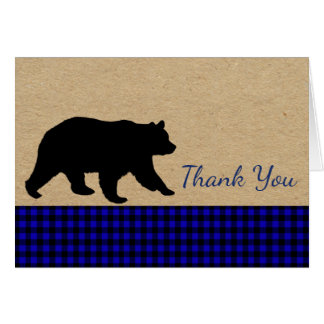 Bear Thank You Cards