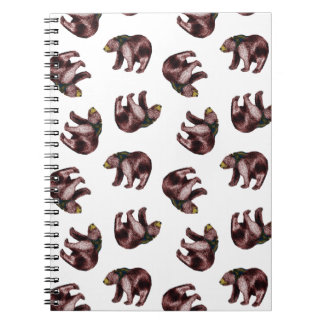 Bear Toss Notebook