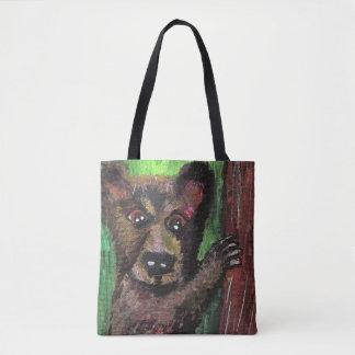Bear Tote Bag  (Customizable)