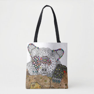Bear Tote Bag (You can Customize)