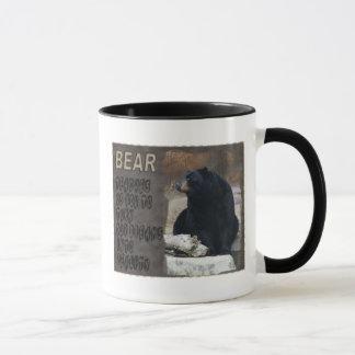 BEAR TOTEM - DREAMS INTO REALITY - WISDOM MUG