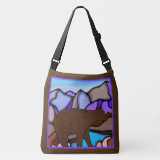 Bear Tracks Crossbody Bag