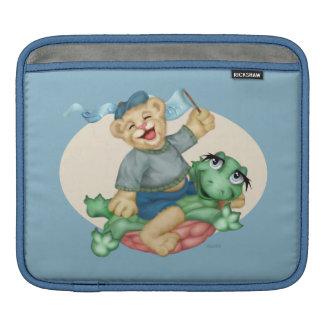BEAR TURTLE CARTOON iPad H Sleeve For iPads