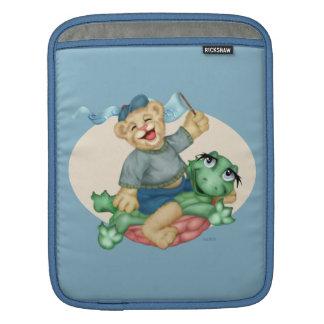 BEAR TURTLE CARTOON iPad iPad Sleeve