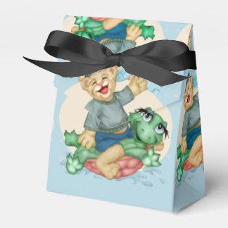 BEAR TURTLE  FAVOR BOX TENT 2
