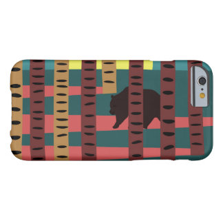 Bear walking in the woods barely there iPhone 6 case