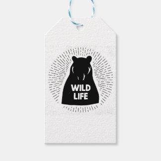Bear - Wild life Gift Tags