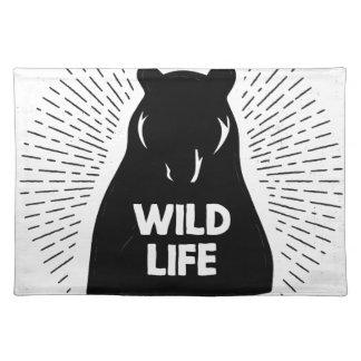 Bear - Wild life Placemat