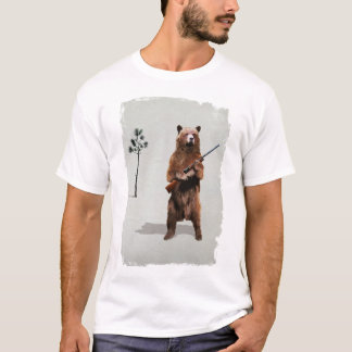 Bear with a shotgun T-Shirt